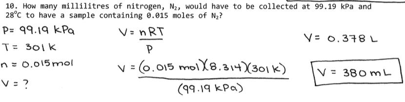Gas Laws Chemistry 20 Yashkarn Khamba
